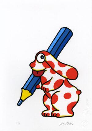La pimpa, matita, disegnatore