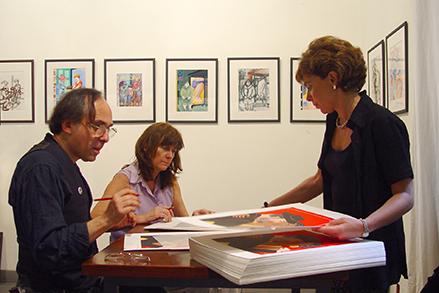 Art Spiegelman e Annamaria Romano