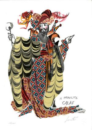 Luzzati Emanuele, Calaf